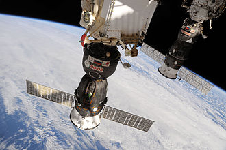 Soyuz TMA-19 - Soyuz TMA-19 spacecraft docked to Rassvet Mini-Research Module 1 (MRM1).