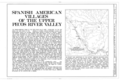Spanish American Villages of the Pecos River Valley, General View, Upper Pecos River Valley, Villanueva, San Miguel County, NM HABS NM,24-VILLA.V,1- (sheet 1 of 1).png