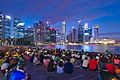 Spectators waiting for the light show at Marina Bay (16279215937).jpg
