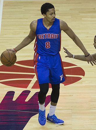 Spencer Dinwiddie - Dinwiddie with the Pistons in February 2015