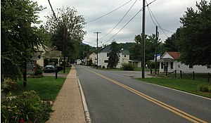 Sperryville, Virginia - A view from Sperryville Pike