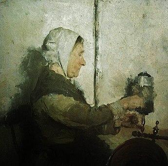 The Spinster. Э. Ларокruen. XIX век