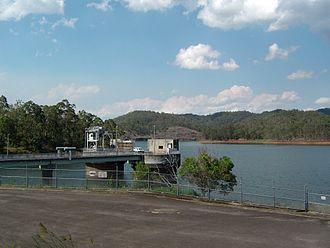 Wivenhoe Power Station - Power station at Splityard Creek Dam