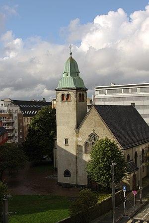 St. James's Church, Bergen - Image: St. Jakob church Bergen