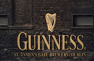 Guinness - Sign at the Market Street entrance