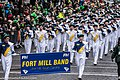St. Patrick's Day Parade (2013) - Fort Mill High School Band, South Carolina, USA (8565216183).jpg