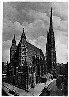 St. Stephen's Cathedral in art 1925 dgE.jpg