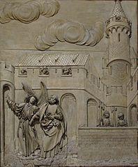 scènes de la vie de saint Pierre à Strasbourg