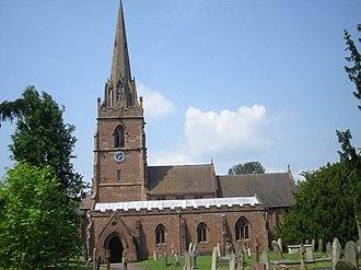 Pattingham - Image: St Chad's church Pattingham geograph.org.uk 832905