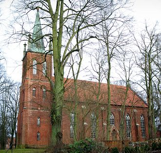 Barum, Lüneburg - St. Dionysius-Church in St. Dionys