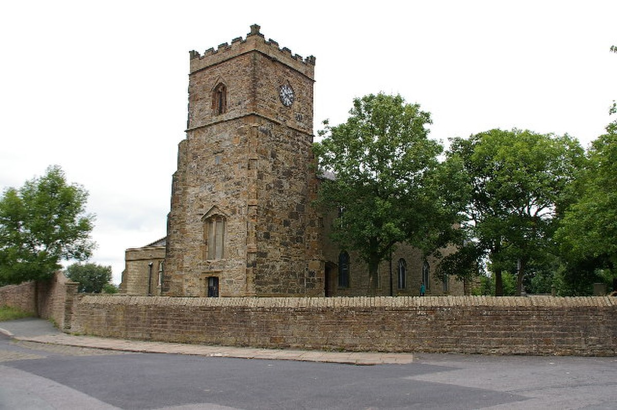 St James Church, Church, Lancashire - geograph.org.uk - 85395.jpg