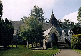 St John's, Woking - Image: St John, Woking geograph.org.uk 1524106