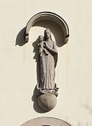 St Mariä Heimsuchung, Rhöndorf - Madonnenstatue - Peter Terkatz-0962.jpg