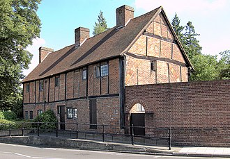 Ruislip - Image: St Martin's Cottages, Eastcote Road, Ruislip geograph.org.uk 1438157