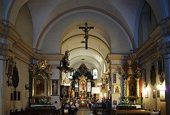 St Nicholas Church (interior), 9 Kopernika street, Krakow, Poland.jpg
