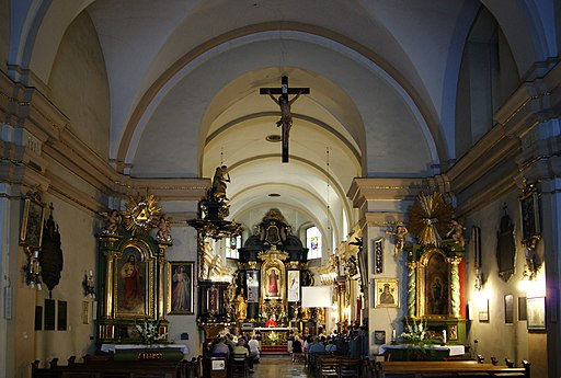 St Nicholas Church (interior), 9 Kopernika street, Krakow, Poland