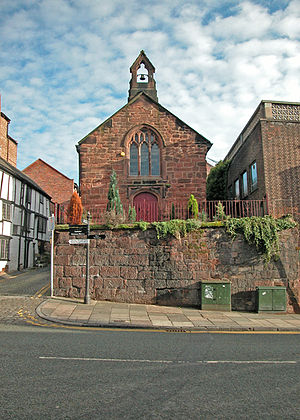 Grade II listed buildings in Chester (central) - Image: St Olave's Church geograph.org.uk 1280161