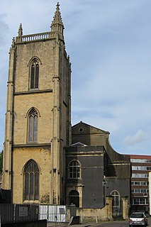 St Thomas the Martyr, Bristol church in Bristol, UK