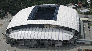 Lech Poznań - Image: Stadion Miejski Poznan, 2011 08 23