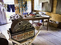 Staged interior, laundry building on the grounds - Ximenez-Fatio House Museum - St Augustine, 2014-04-23 (7418).jpg