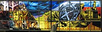 Stained glass, McGill metro station, Montreal (1 of 5).JPG