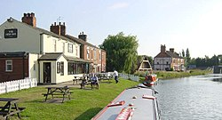 The New Inn ved breidda av Stainforth and Keadby Canal
