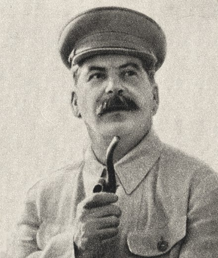 Stalinism, while not an ideology per se, refers to the thoughts and policies of Stalin Stalin Image.jpg