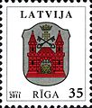 Stamps of Latvia, 2012-02.jpg