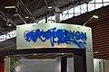 Stand vandalisé du Grand Lyon au salon Primevère 2018 (1).jpg
