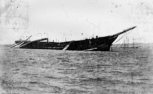 The wreck of Itata
