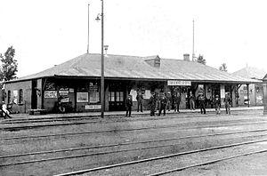 Johannesburg Park Station - Park Halt c.1893