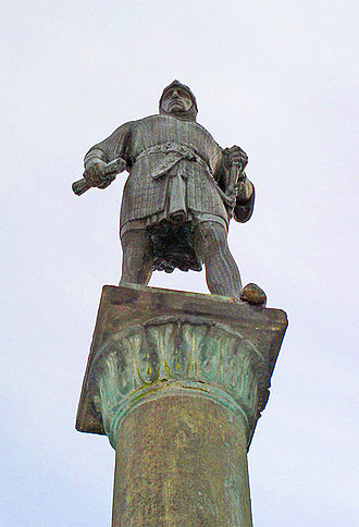 Bernard II, Lord of Lippe - Statue of Bernard II, Lord of Lippe in Lippstadt, District of Soest, North Rhine-Westphalia, Germany