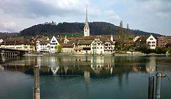 Stein am Rhein - Stadtkirche und Kloster St.Georgen.jpg