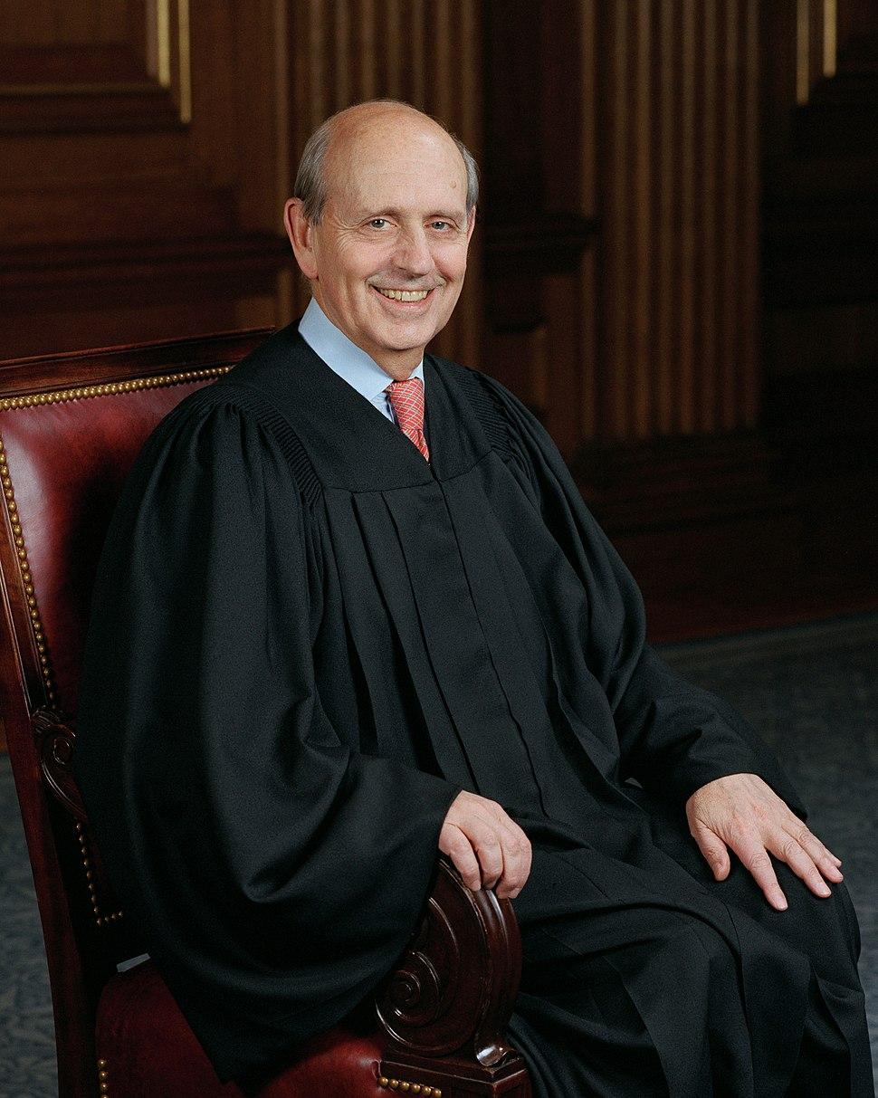 Stephen Breyer, SCOTUS photo portrait