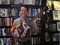 Steve Keene-painted, autographed, First Act electric guitar.jpg
