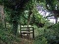 Stile near Woodlands - geograph.org.uk - 1990239.jpg