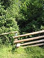 Stile to overgrown footpath - geograph.org.uk - 517506.jpg