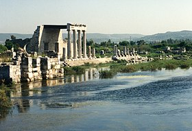 Stoa in the Agora of Miletus,Turkey.jpg