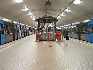Odenplan metro station Stockholm Metro station