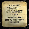 Stolperst guenthersburgallee 1 goldschmidt margot.jpg
