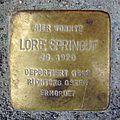 Stolperstein Friedberger Anlage 32 Lore Springut.jpg