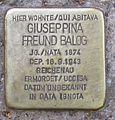 Stolperstein Giuseppina Freud Balog.jpg