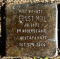 Stolperstein Solingen Köcherstr. 34 Ernst Moll.jpg