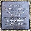 Stolperstein Straße zum Löwen 19 (Wanns) Gertrud Meyer.jpg