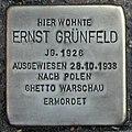 Stolperstein Verden - Ernst Grünfeld (1926).jpg