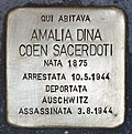 Stolperstein für Amalia Dina Coen Sacerdoti (Padua).jpg