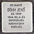 Stolperstein für Jenö Böhm (Pecs).jpg