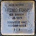 Stolpersteine Höxter, Hedwig Frank (Marktstraße 15).jpg