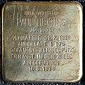 Stumbling block for Paul Heising (Wahner Straße 6)