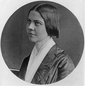 Lucy Stone - Lucy Stone as a young woman